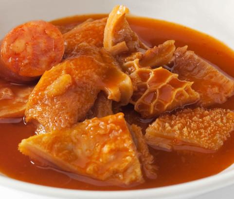 Callos de ternera con salsa 500 g